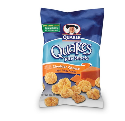 Quaker Rice Cakes Cheddar Cheese