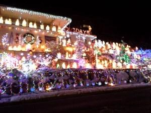 A ka-gillion Christmas lights!