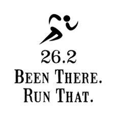 I've run 2 full marathons & training for my 3rd.